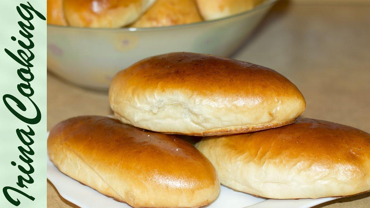Печеные пирожки с капустой из дрожжевого теста