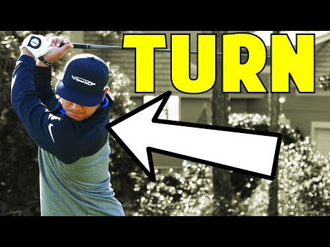 How To Turn Your Shoulders In The Golf Swing