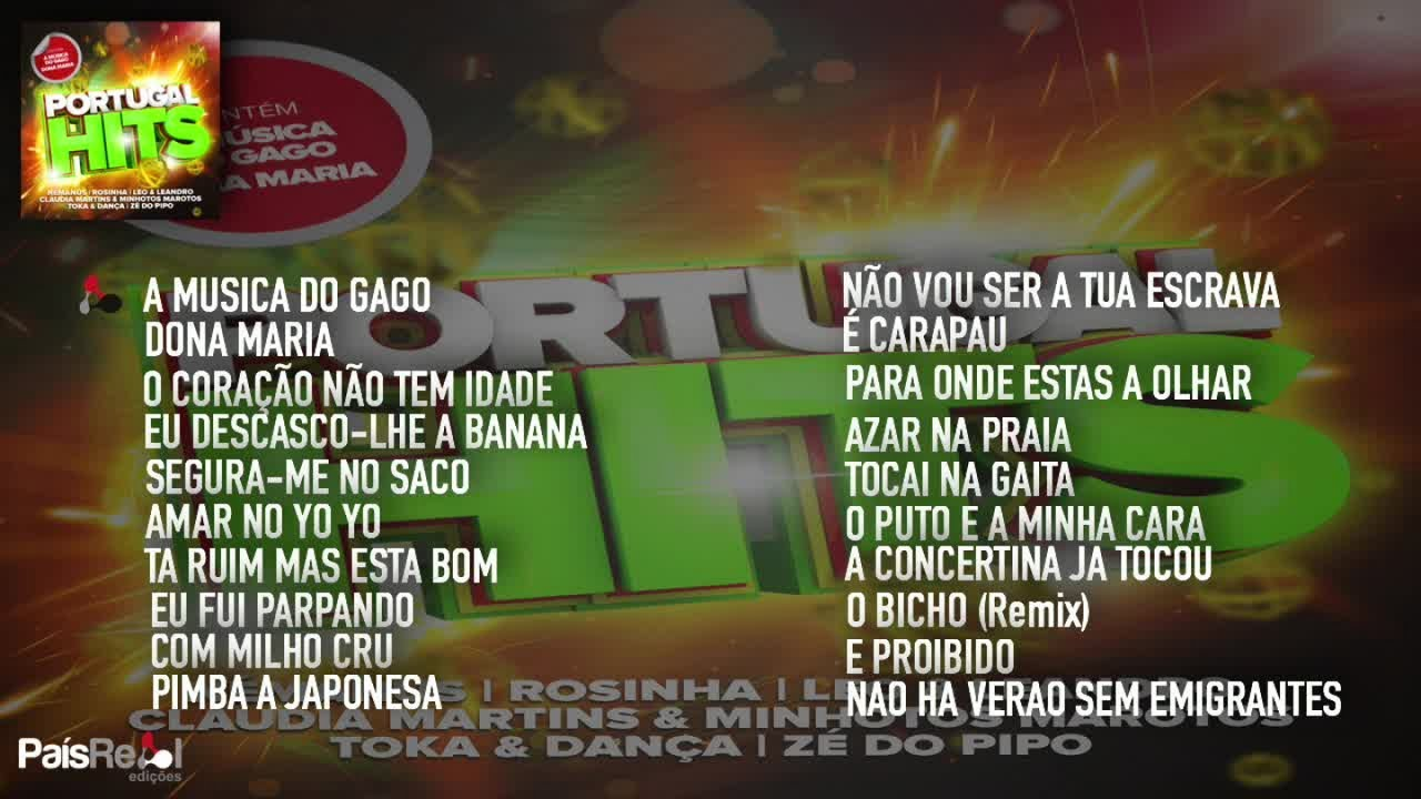 Various Artists Portugal Hits 2019 Youtube