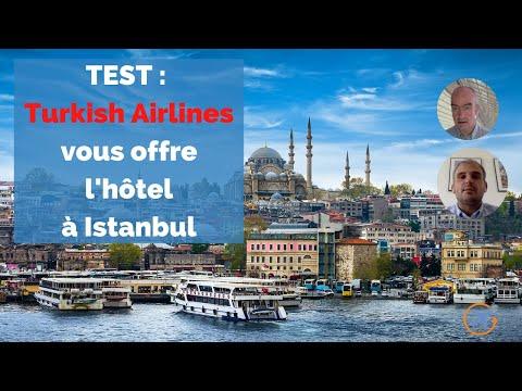 TEST : Turkish Airlines vous offre l'hôtel à Istanbul