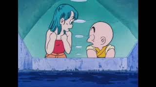 Dragon Ball - Bulma And Krillin Underwater