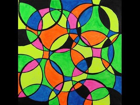 "Abstract Painting Art Demo - ""Amalgama"" Embrace The Matrix"