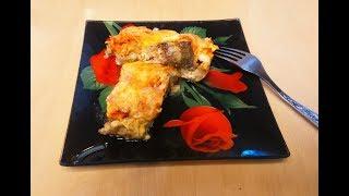 Рыба запечённая в духовке с овощами и сыром просто и вкусно