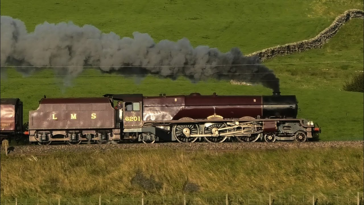 Princess Elizabeth & Tornado ! The Northern Belle & The Ticket To Ride