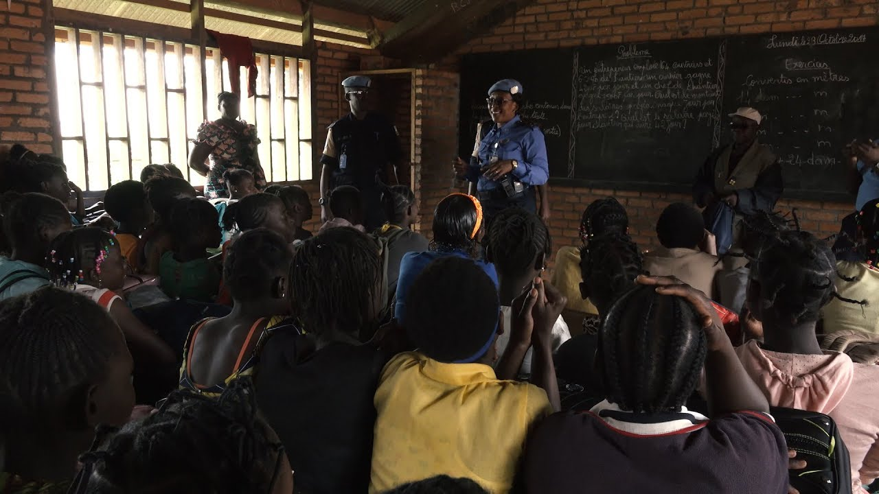 Projecting Strength, Providing Protection: One UN Policewoman's Story