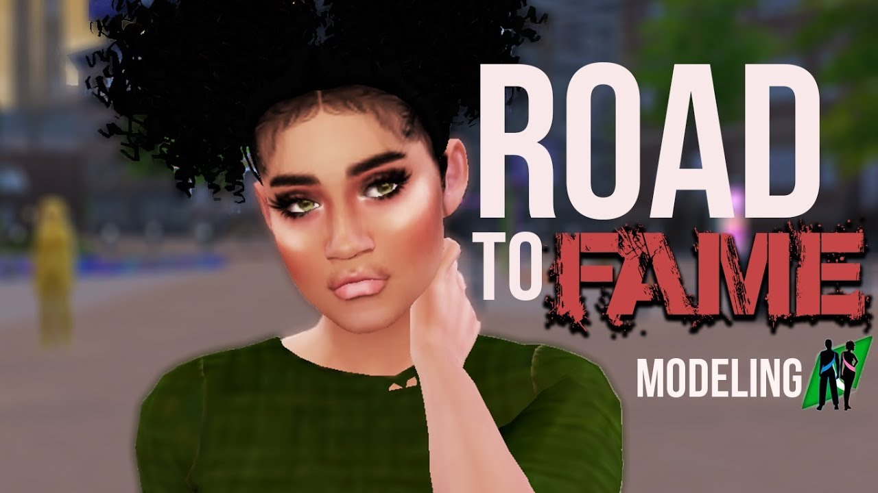 MODELING CAREER | THE SIMS 4 ROAD TO FAME MOD REVIEW