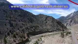 California Gold Prospecting Drone  www.california-gold-rush-miner.us/