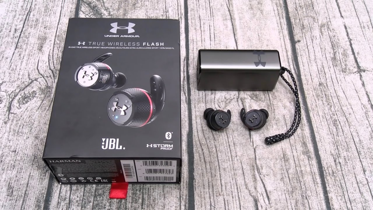 Download Under Armour True Wireless Flash - Engineered By JBL