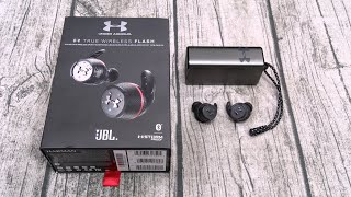 Under Armour True Wireless Flash - Engineered By JBL