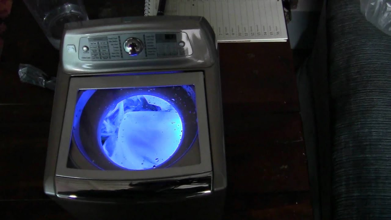 lg top loader washing machine not spinning