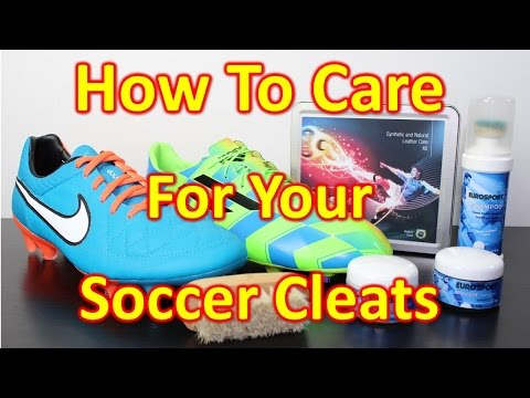 How To Properly Care for Leather & Synthetic Soccer Cleats/Football Boots
