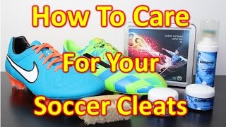 how to properly care for leather synthetic soccer cleats football boots