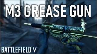 NEW MEDIC WEAPON! - Fully Gold M3 Grease Gun GAMEPLAY - Battlefield 5