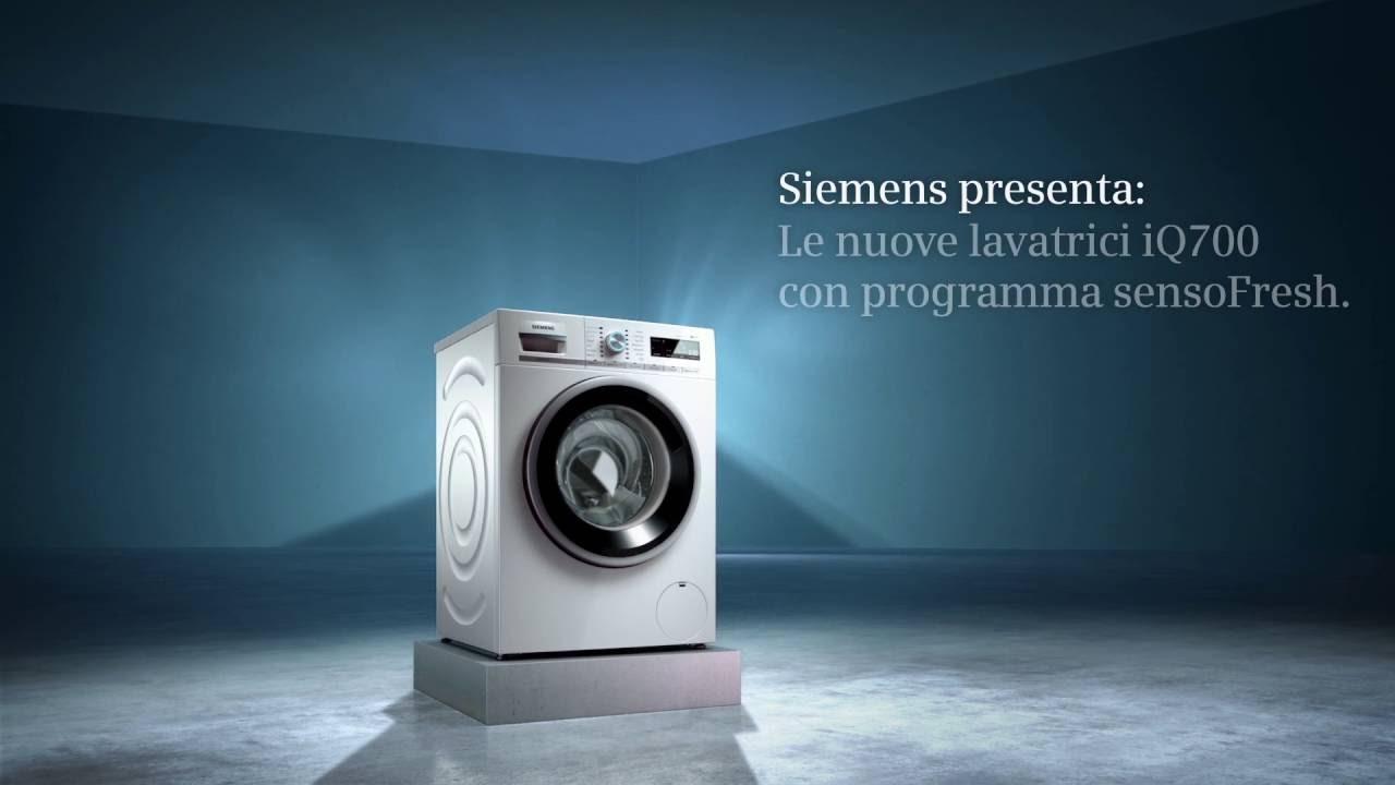 Siemens presenta: Le nuove lavatrici iQ700 con programma sensoFresh ...