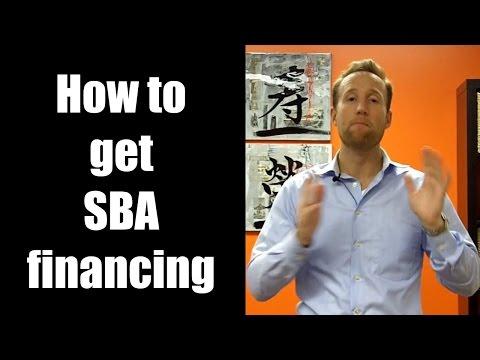 How to get SBA financing