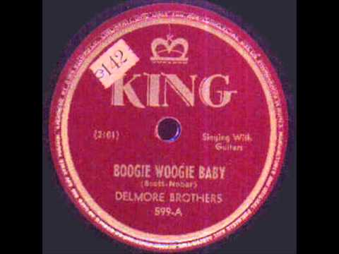 Delmore Brothers Boogie Woogie Baby