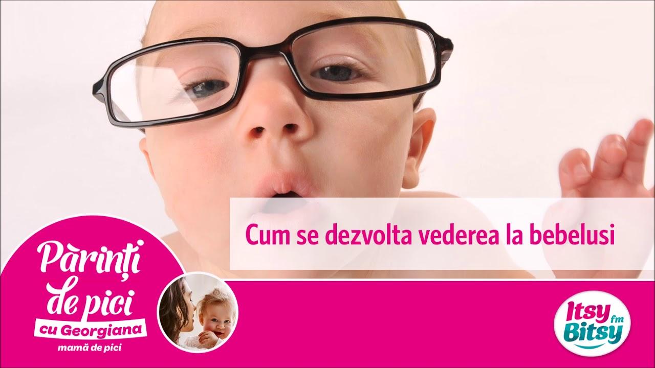 Sa aflam cum se dezvolta vederea bebelusului