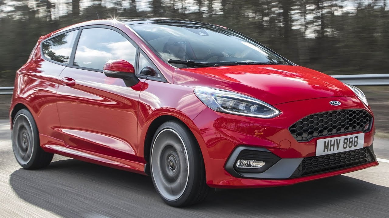 2019 ford fiesta st interior exterior and drive