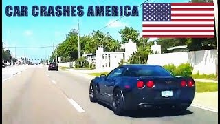 CAR CRASHES IN AMERICA #5 | BAD DRIVERS USA | NORTH AMERICAN DRIVING FAILS