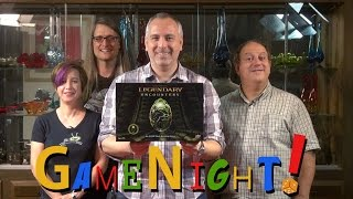 Legendary Encounters: An Alien Deckbuilding Game - GameNight! Se2 Ep36