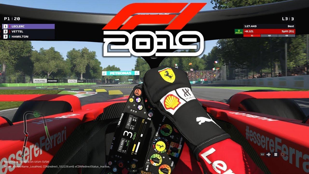 F1 2019 Ferrari Game