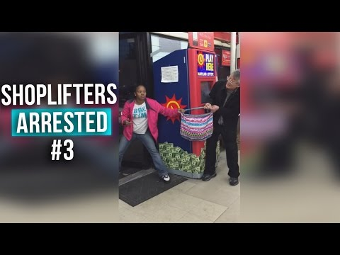 Shoplifters Caught in the Act Compilation #3