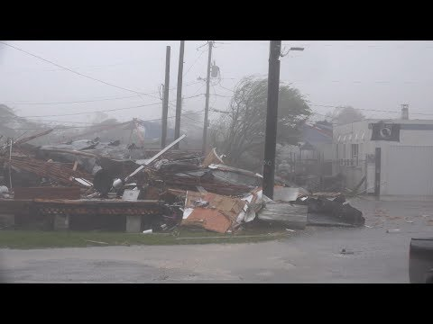Hurricane Irma Landfall Devastates Lower Florida Keys 9/10/2017