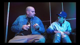 Berner x T3R Elemento in the studio