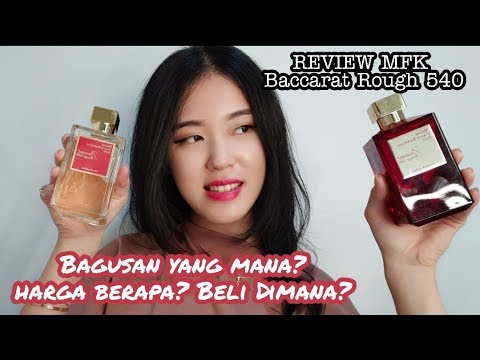 MFK BACCARAT ROUGH 540 EXTRAIT & EDP Review Indonesia