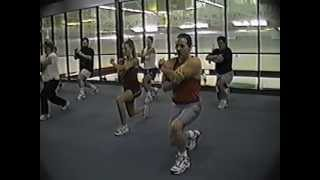 cardio kick box part 1 of a 45 minute full workout class by ted ducharme