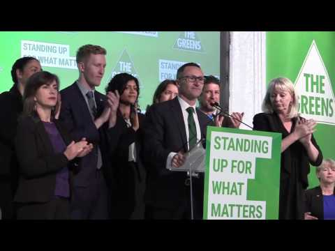 Greens campaign launch 2016