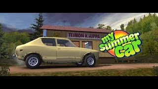 My Summer Car / Моя тачка на лето / подвеска
