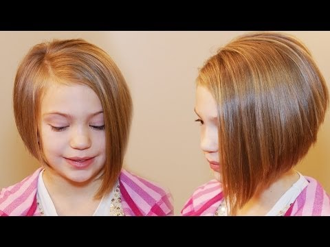 HOW TO CUT AN ASYMMETRICAL A-LINE // SHORT HAIRSTYLES