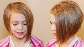 HOW TO CUT AN ASYMMETRICAL A-LINE // SHORT HAIRSTYLES
