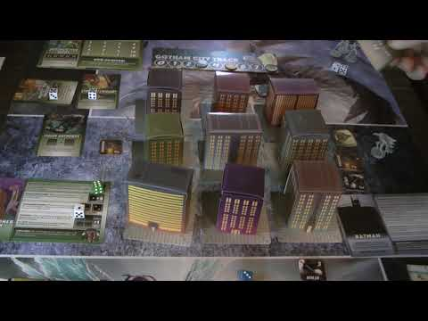 HOW TO PLAY!  BATMAN: THE ANIMATED SERIES - GOTHAM UNDER SIEGE FROM IDW GAMES