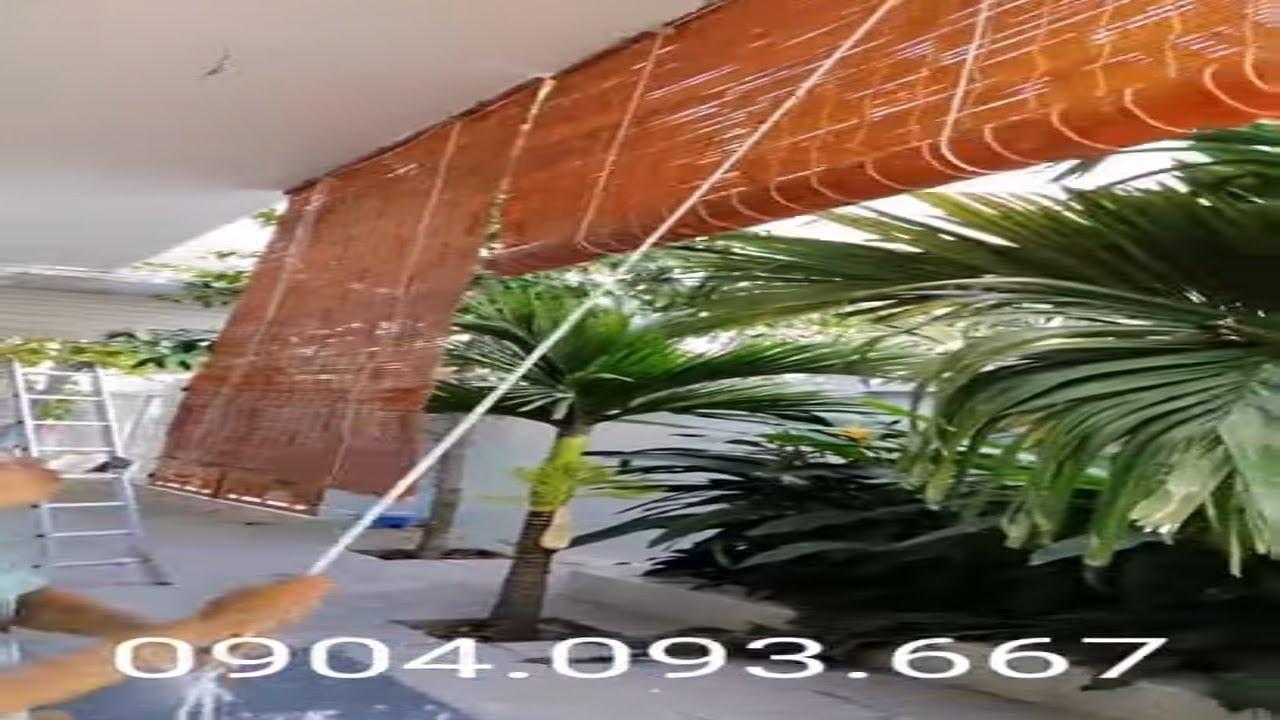 Rèm chống nắng mưa, lắp màn sáo trúc giá rẻ Đồng Nai – Ngọc Hoàng