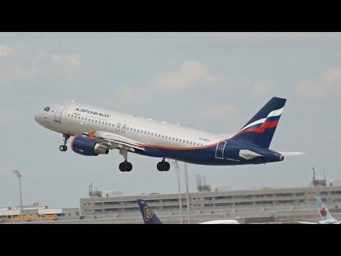 Aeroflot Airbus A320-214 VP-BRX Departure At Munich Airport München Flughafen