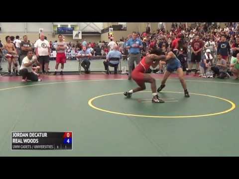 54kg s, Jordan Decatur, OH vs Real Woods, IL