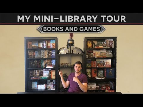 My Mini-Library Tour (History Books And Board Games)