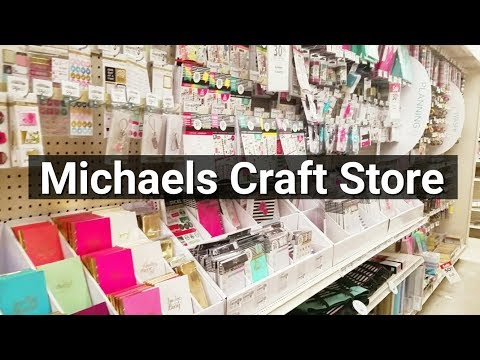 Follow Me Around- Michaels Arts & Craft Store Tour!