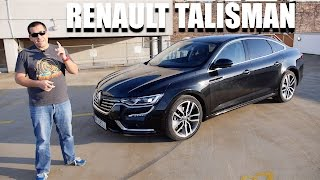 Renault Talisman (ENG) - Test Drive and Review