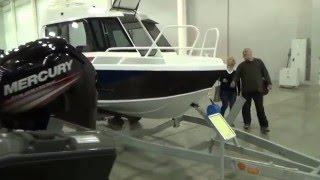 Катера и лодки Grizzly на выставке Боут Шоу в Москве   2016г