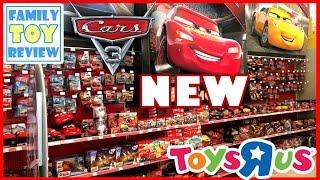 Disney Cars 3 Toys Hunting 100+ CARS TOYS Giant Surprise Disney Toy Hunt at Walmart ToysRUS & Target