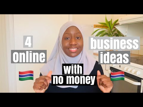 4 Online Business Ideas in Africa (Gambia) you can start with NO MONEY
