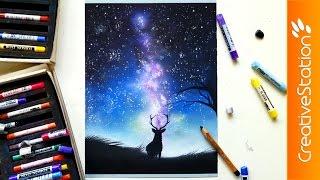 Galaxy - Speed Painting   CreativeStation