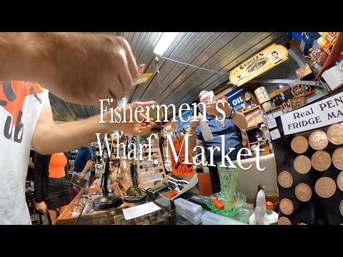 Fishermen's Wharf Market Port Adelaide I Rag Fair I Flea Market I Australia @Kolesnikov Productions