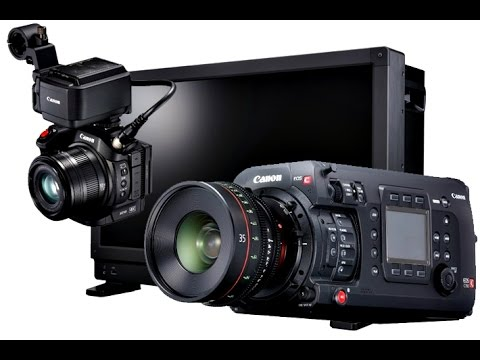 Canon C700 & XC15 4K Camera Preivew: Global Shutter  YES!