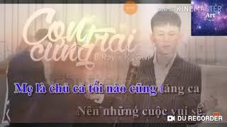 Karaoke bài hát con trai cưng của mẹ