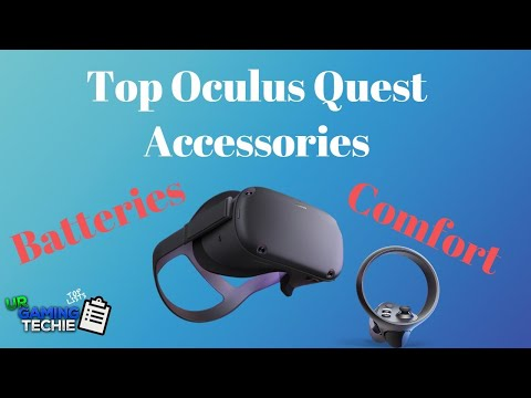 Top Must Have Accessories for your Oculus Quest