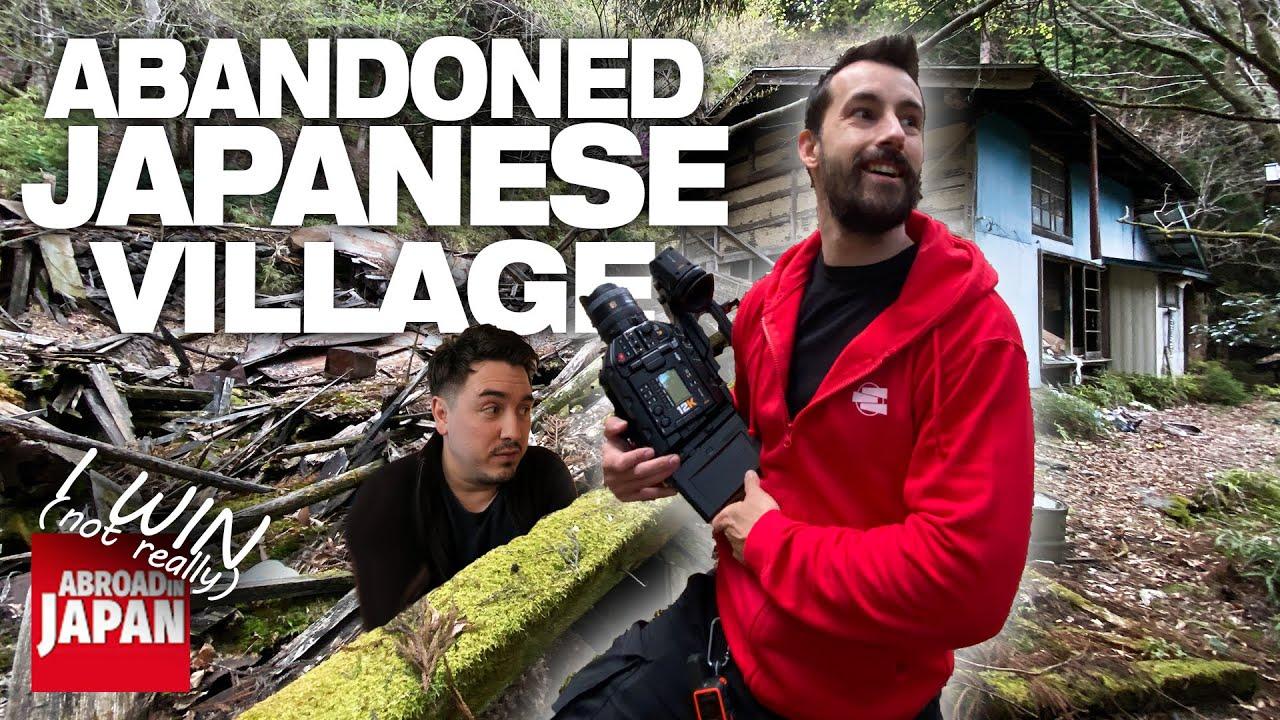 Inside an Abandoned Japanese Village [Shot in 12k]
